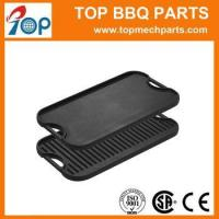 China High Quality Rectangular Shape Cast Iron Griddle Pan on sale