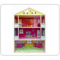 Quality Wooden 3-Story Dollhouse Item: 302 wholesale