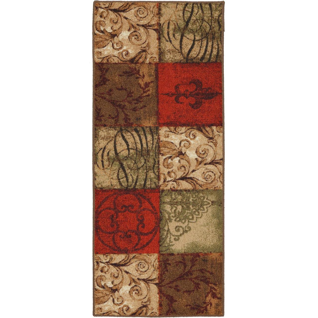 China Marvelous Mohawk Kitchen Rugs In Home Tuscany Runner 20 X 50 Walmart Com on sale