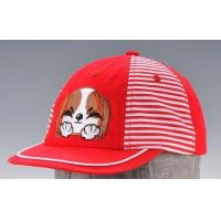 Quality Disney kid size 6 panels baseball cap with flat embroidery logo wholesale