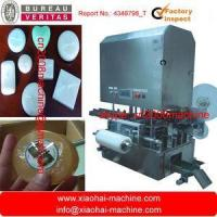 China stretch film washing soap packaging machine for flower shape soap,with transparent film on sale