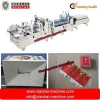 China Automatic Corrugated paper folder gluer with Pre-fold and crash lock bottom on sale
