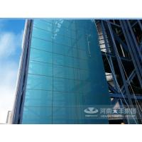 Quality Energy-saving plates Glass surface and metallic curtain wall panel wholesale