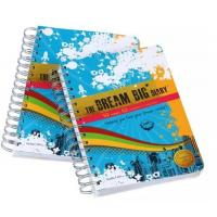 China Wire-O tabs exercise book printing/Tabs books printing service on sale