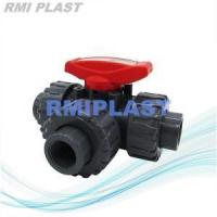 Quality Three Way Ball Valve PVC T Port wholesale