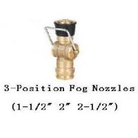 China Fog Nozzles 3-position for Fire Hose Nozzle Brass on sale