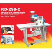 China KD-298-C Computerized Hot-cement Edge Fold Machine on sale