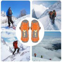 Quality Silicone Shoes Cover Snow Traction Cleats Spikes Crampons wholesale