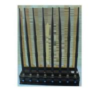 Buy cheap High Power GPS L1 L2 L5 Desktop 8 Antenna Mobile Phone Jammer from wholesalers
