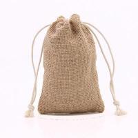 China LG0034,Nature Cotton Drawstring Pouch Bag on sale
