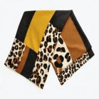 Quality Similar Cotton Touching Leopord Printed Fanshionable Beautiful Comfortable Handfeeling Women's Scarf wholesale