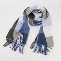 Quality Similar Cotton Touching Plaid Tassels Classic Graceful Desinable Winter/Autumn All-matching Scarf wholesale