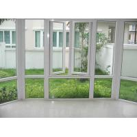 China UPVC double glazing window on sale