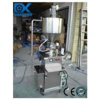 Quality Semi Automatic Piston Filling Machine with Heating Tank and Mixer wholesale