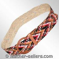 Buy cheap Small Leather Goods Leather Knitted Belts. from wholesalers