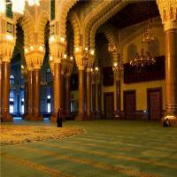 Quality Masjid Mosque Muslim Embossed Wall To Wall Prayer Custom Roll Carpet wholesale