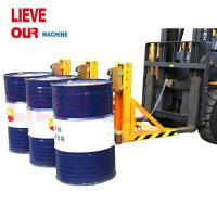 China DG1500A Single Eagle-Grips Forklift Drum Lifter/Grab with 1500kg Capacity on sale
