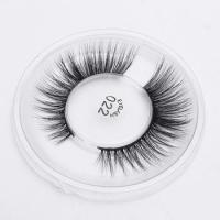 Buy cheap Private Label false cluster lashes silk korean 3d fake eyelashes from wholesalers