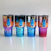 Buy cheap 30 oz./789ML D/W yeti mug with 3 colors uv coating from wholesalers