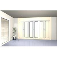 Buy cheap Retractable wardrobe with 6 lacquered doors. Model BR1 from wholesalers