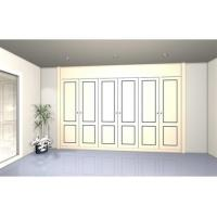 Quality Retractable wardrobe with 6 lacquered doors. Model BR2 wholesale