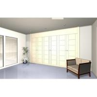 Quality Retractable wardrobe with 6 lacquered doors. Model PL2V5 wholesale