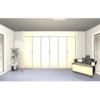 Quality Retractable wardrobe with 6 lacquered doors. Model L wholesale