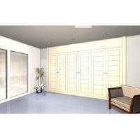 Quality Retractable wardrobe with 6 lacquered doors. Model TL8 wholesale
