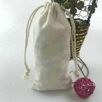 Buy cheap Cotton Canvas Fabric Drawstring Muslin Bag from wholesalers