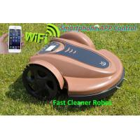 China Smartphone Wifi APP Control Lawn Mower Robot with Updated Water-Proofed Charger+Subarea Function+Pre on sale