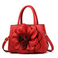 Buy cheap EM305 classical bags with big flower in middle wholesale price women bags from wholesalers