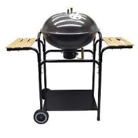 "Quality 22"" Round Backyard BBQ Grill With 2 Side Tables wholesale"