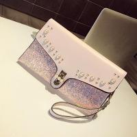 Quality MCB014 Luxury type for fashion bag with beading women clutch bag wholesale