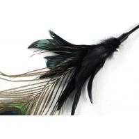 Quality Permalink Long Stick Peacock Feather Cat Toy wholesale