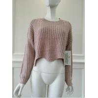 Buy cheap Women's knitted sweater pulover knitwear china from wholesalers