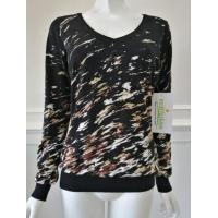 Quality Women's knitted sweater print knitwear wholesale