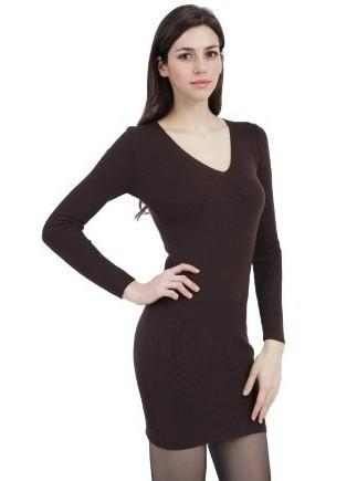 Cheap lady knitted dress for sale