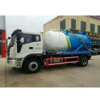 Quality Foton 8000 Liters Suction Vacuum Sewer VAC 6 Wheel Trucks For Sales wholesale