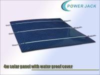 Quality 4w solar panel 0.5v, 8amp, with wealth proof film
