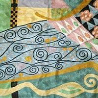 Quality Chain Stitched Klimt Rugs wholesale