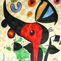 Buy cheap Chain Stitched Miro Rugs from wholesalers