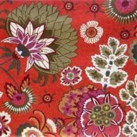 Quality Chain Stitched Floral Rugs wholesale