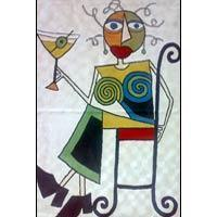 Quality Picasso Chain Stitched Rugs wholesale