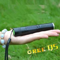 China Rechargeable 18650 Battery Powered CREE Q5 Waterproof Mini Zoom Led Flashlight/Torch on sale