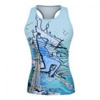 Quality casual wear & swim suit design your own running tank top for women wholesale