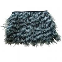 Ladies feather skirt