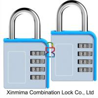China 8072-4A blue door lock combination on sale