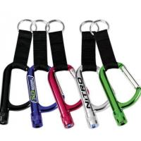 Buy cheap Locking Carabiner with LED flashlight and lanyard from wholesalers