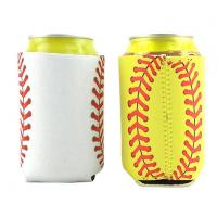 Quality Premium Neoprene Collapsible Can Koozie With Silk Screen wholesale
