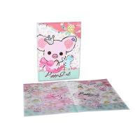 Buy cheap Custom Printed PP Plastic File Folder With 2 Clear Pockets from wholesalers